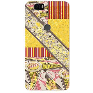 Garmor Designer Silicone Back Cover For Huawei Nexus 6P 14276041995