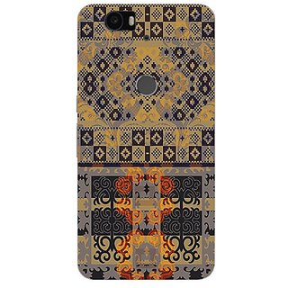 Garmor Designer Silicone Back Cover For Huawei Nexus 6P 14276042145