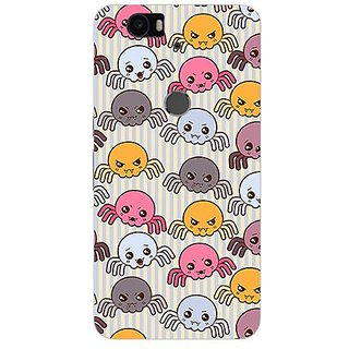 Garmor Designer Silicone Back Cover For Huawei Nexus 6P 14276042466