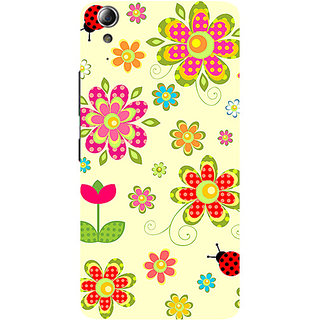 Garmor Designer Silicone Back Cover For Lenovo A6000 786974273366