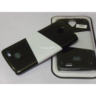 Premium Mercury Dual Colour Designer Hard Back Case For Lenovo S820 S 820 Black