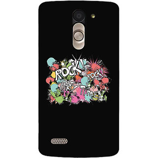 Garmor Designer Silicone Back Cover For Lg L Bello D335 786974282382