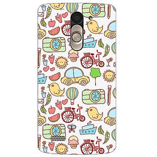 Garmor Designer Silicone Back Cover For Lg L Bello D335 38109424946