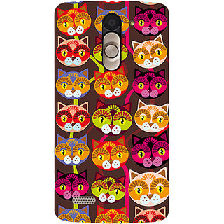 Garmor Designer Silicone Back Cover For Lg L Bello D335 786974282979