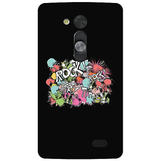 Garmor Designer Silicone Back Cover For Lg L Fino 786974284980