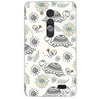 Garmor Designer Silicone Back Cover For Lg L Fino 38109426285