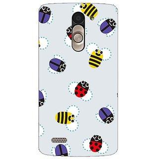 Garmor Designer Silicone Back Cover For Lg L Bello D335 38109424373