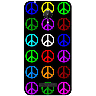 Garmor Designer Silicone Back Cover For Micromax Canvas Spark Q380 786974288919