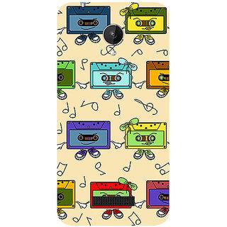 Garmor Designer Silicone Back Cover For Micromax Canvas Spark Q380 786974286687