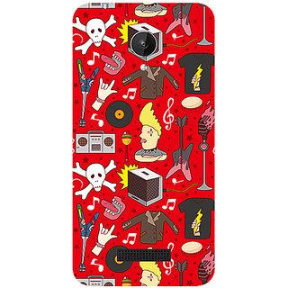 Garmor Designer Silicone Back Cover For Micromax Canvas Spark Q380 786974287127