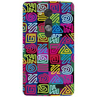 Garmor Designer Silicone Back Cover For Lg L Fino 786974286090