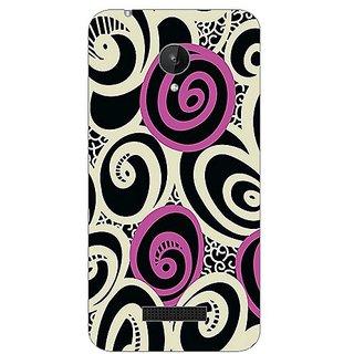 Garmor Designer Silicone Back Cover For Micromax Canvas Spark Q380 608974313159