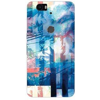 Garmor Designer Silicone Back Cover For Huawei Nexus 6P 14276043937