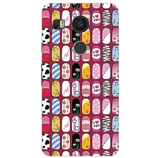 Garmor Designer Silicone Back Cover For Lg Nexus 5X 14276047997