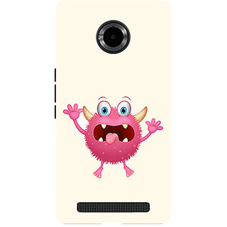 Garmor Designer Silicone Back Cover For Micromax Yu Yuphoria Yu5010 786974291018