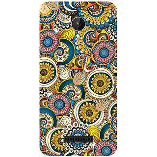 Garmor Designer Silicone Back Cover For Micromax Canvas Spark Q380 786974287776