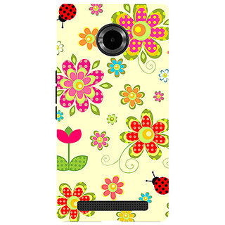 Garmor Designer Silicone Back Cover For Micromax Yu Yuphoria Yu5010 786974291568
