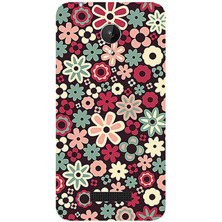 Garmor Designer Silicone Back Cover For Micromax Canvas Spark Q380 786974287707