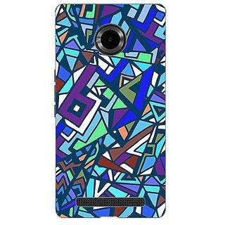 Garmor Designer Silicone Back Cover For Micromax Yu Yuphoria Yu5010 608974314378
