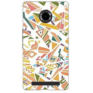 Garmor Designer Silicone Back Cover For Micromax Yu Yuphoria Yu5010 608974314361