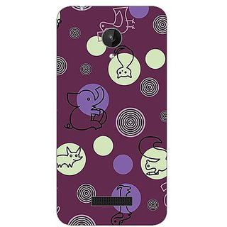 Garmor Designer Silicone Back Cover For Micromax Canvas Spark Q380 38109427329