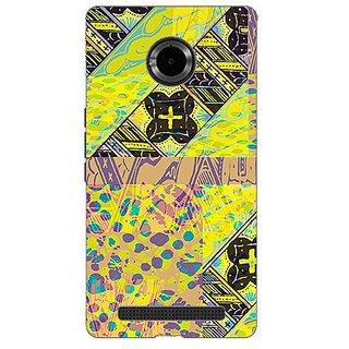 Garmor Designer Silicone Back Cover For Micromax Yu Yuphoria Yu5010 38109428203