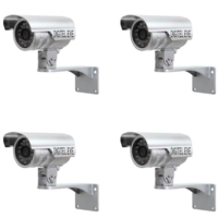 Digitel Eye Bullet AHD Camera (Pack Of 4 Camera)