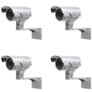 Digitel Eye Bullet AHD Camera (Pack Of 4 Camera)