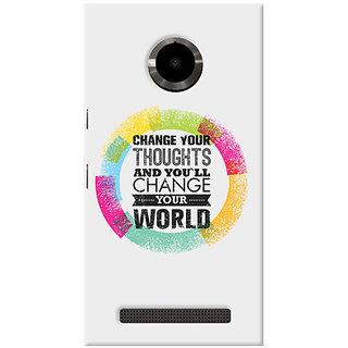 Garmor Designer Silicone Back Cover For Micromax Yu Yuphoria Yu5010 6016045877228