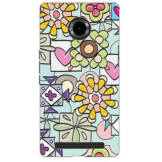Garmor Designer Silicone Back Cover For Micromax Yu Yuphoria Yu5010 38109429118