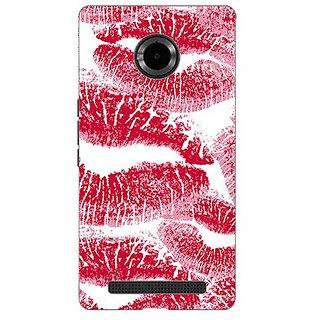 Garmor Designer Silicone Back Cover For Micromax Yu Yuphoria Yu5010 38109429194