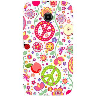 Garmor Designer Silicone Back Cover For Motorola Moto E 786974296457
