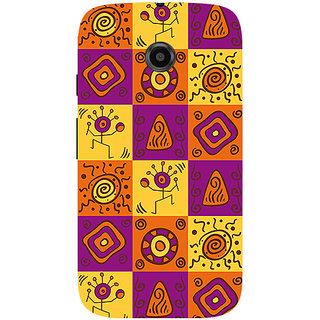 Garmor Designer Silicone Back Cover For Motorola Moto E 786974295368