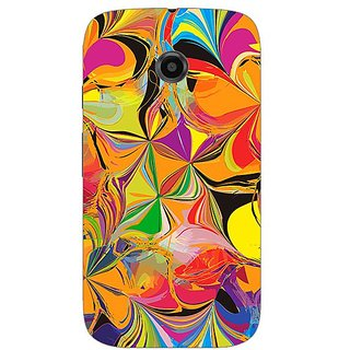 Garmor Designer Silicone Back Cover For Motorola Moto E 608974316402