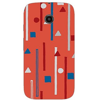 Garmor Designer Silicone Back Cover For Motorola Moto E 608974316624
