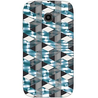 Garmor Designer Silicone Back Cover For Motorola Moto E 608974316136
