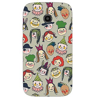 Garmor Designer Silicone Back Cover For Motorola Moto E 38109432125