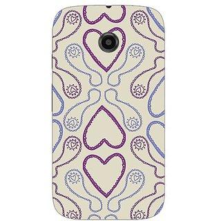 Garmor Designer Silicone Back Cover For Motorola Moto E 38109432484
