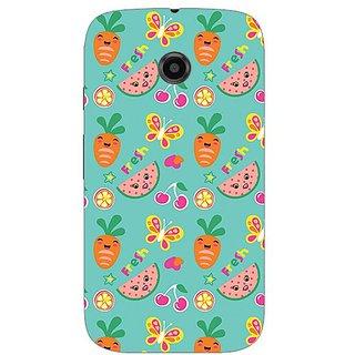 Garmor Designer Silicone Back Cover For Motorola Moto E 38109432279
