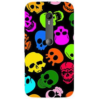 Garmor Designer Silicone Back Cover For Motorola Moto G (3Rd Gen) 786974297850