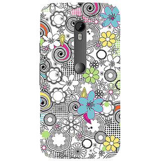 Garmor Designer Silicone Back Cover For Motorola Moto G (3Rd Gen) 786974298222