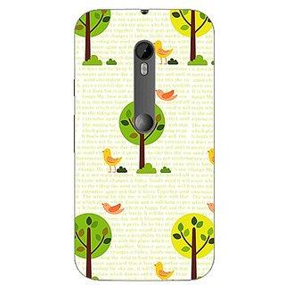 Garmor Designer Silicone Back Cover For Motorola Moto G (3Rd Gen) 38109434914
