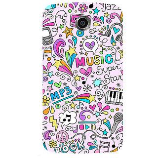 Garmor Designer Silicone Back Cover For Motorola Nexus 6 786974303100