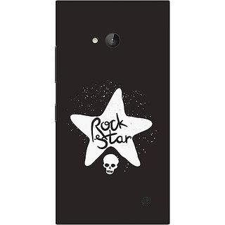 Garmor Designer Silicone Back Cover For Nokia Lumia 730 786974315554