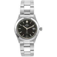 Swiss Military Stainless Steel Blk Women Date Swiss Movement Watch - 90841124