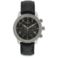 Swiss Military Stone Studded Women Chronograph Swiss Movement Watch