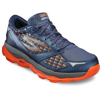 Skechers MenS Blue Running Shoes (53918-NVOR)