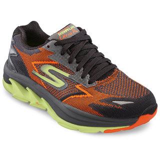 Skechers MenS Orange Running Shoes (54005-ORLM)