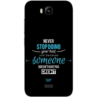 Garmor Designer Silicone Back Cover For Huawei Honor Bee 786974270662
