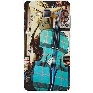 Garmor Designer Silicone Back Cover For Samsung Galaxy A7 Sm-A700 608974328788